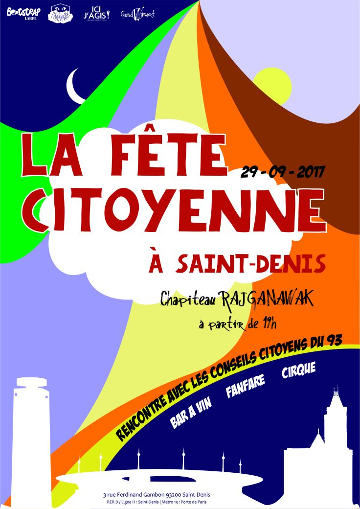 Fête Citoyenne affiche
